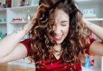 Fitagem em cabelo ondulado