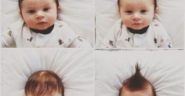 Penteados para bebê