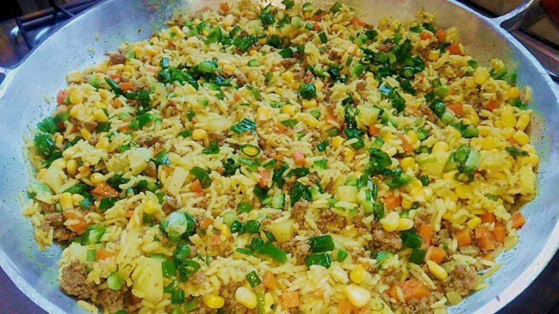 Receitas de arroz temperado