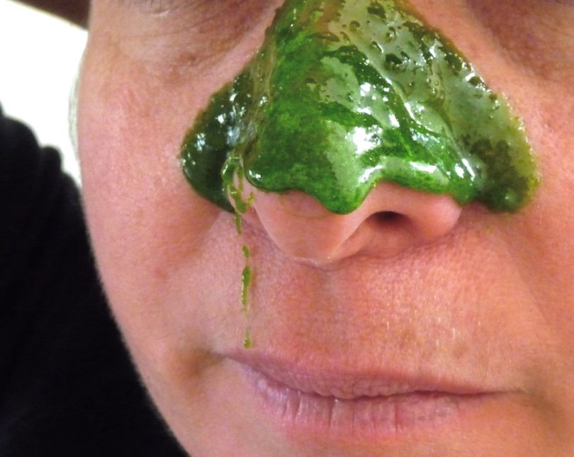Limpeza de pele com gelatina