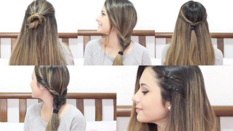 Penteados para usar na escola